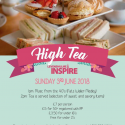Join us for afternoon tea – this Sunday!