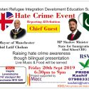 Hate Crime Awareness Event